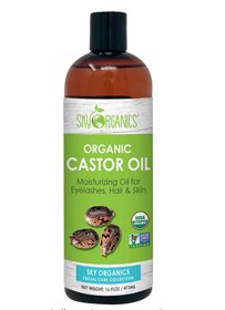 Castor Oil USDA Organic Cold-Pressed